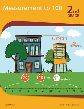 Math Workbook: Measurement to 100