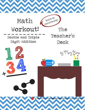 Math Workout Double & Triple Digit Addition