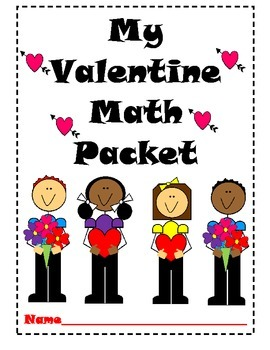 Math Worksheets K-1 (Valentine Theme)