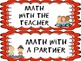 Math Workshop: Board Labels for Rotations