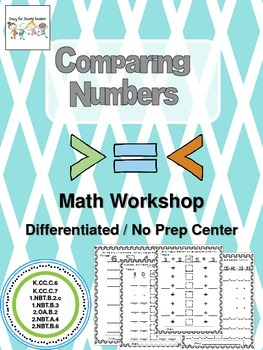Math Workshop: Comparing Numbers Center