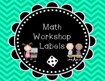Math Workshop Labels