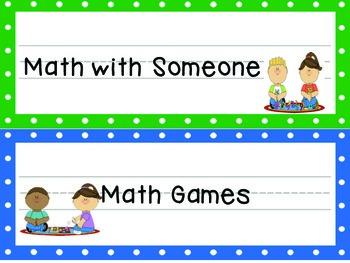 Math Workshop Management
