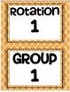 Math Workshop Organization Bundle