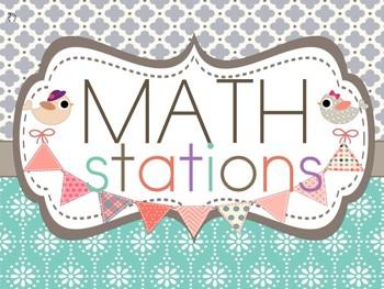 Math Workshop and Reading Workshop Rotation Board