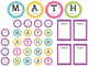 Math Workshop Rotation Board - Polka Dots