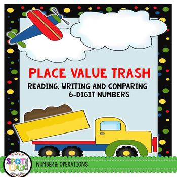 Place Value Trash {Math Workstation}