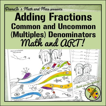 Math and Art! Adding Fractions