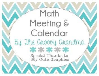 Math and Calendar Meeting
