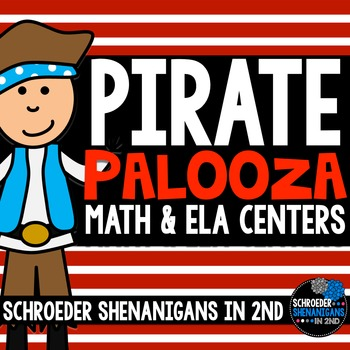 Math & Literacy Centers {pirate}, r controlled, addition/s
