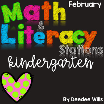 Math and Literacy Stations for February