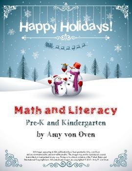 Math and Literacy Winter Bundle