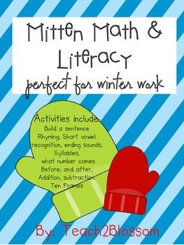 Math and Literacy: Winter Work