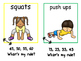 Math and Move! Exercise Task Cards Around the Room {Skip C