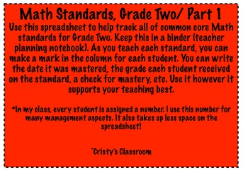 Math and Reading Common Core Bundle!