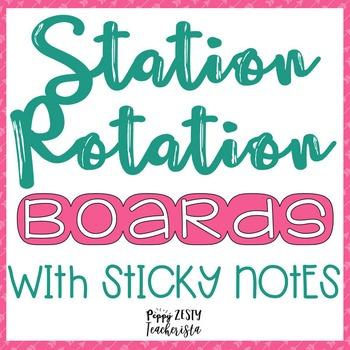 Math and Reading Rotation Board