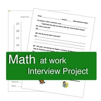 Math at Work Interview