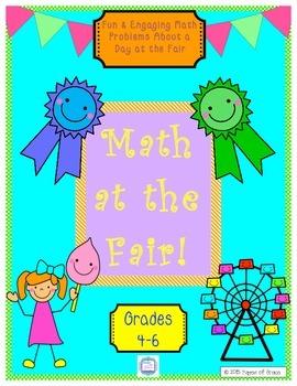 Math at the Fair! Word problems with a fair theme.