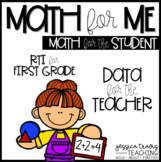 Math for ME! {Activity sheets to review, assess, and RTI}