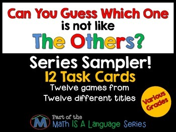 Math games - Can you guess which one? - Free Sampler