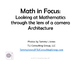 Math in Focus Architecture K-12