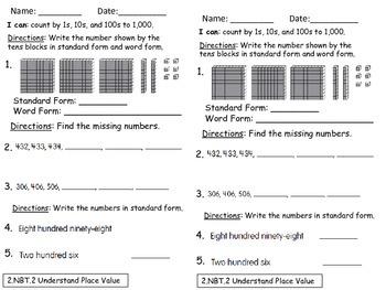 2nd Grade Math in Focus Book A (Ch. 1- 8) Exit Slip Bundle