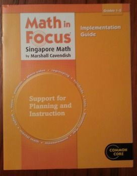 Math in Focus Implementing Guide