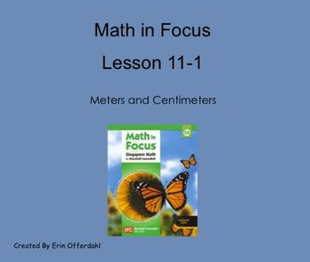 Math in Focus Third Grade Chapter 11