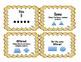 Math in Focus Vocabulary Kindergarten Cards