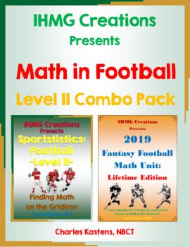 Math in Football-Level II Combo Pack (Math in Football & F