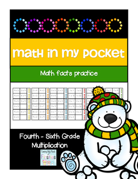 Math in My Pocket ~ Multiplication Fourth -Sixth Grade Win