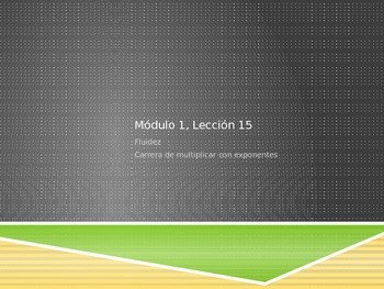 Math in Spanish: Grade 5 Module 1 Lesson 15