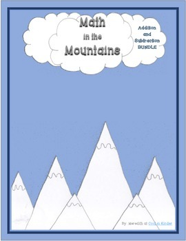 Math in the Mountains Addition and Subtraction Basic Fact