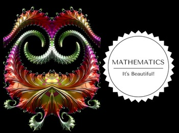 Math is Beautiful Poster