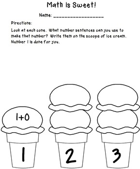 Math is Sweet: Decomposing Numbers