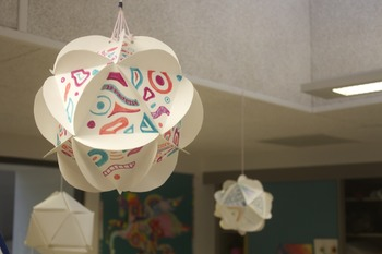 Math joins Art making Geodesic domes!