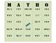 Math-o! (Math Bingo)