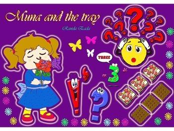 Math story - Muna and the tray