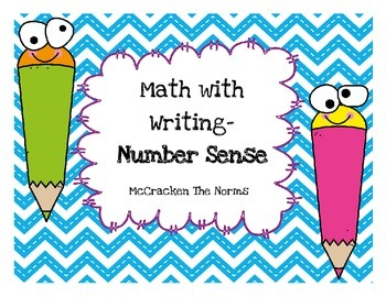 Math with Writing Daily 3- Number Sense