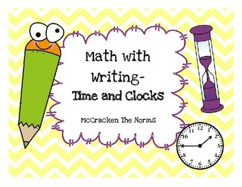 Math with Writing Daily 3- Time and Clocks