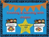 Shape & pattern block recording for math stations