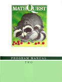 MathQuest 2: Program Manual