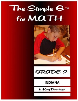 Indiana Math: The Simple 6 for Grade 2 Indiana Students
