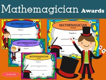 Mathemagician Awards