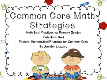 Mathematical Best Practices Posters for Primary Grades for