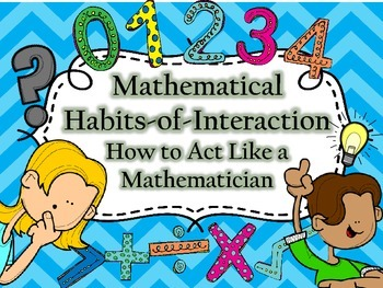 Mathematical Habits-of-Interaction