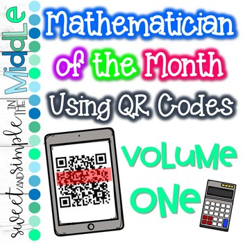 Mathematician of the Month using QR Codes
