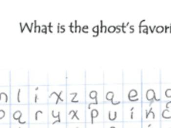 Mathematics Halloween Word Search (Number Sense & Geometry
