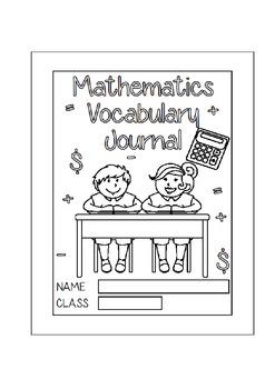 Mathematics Vocabulary Journal - Middle School