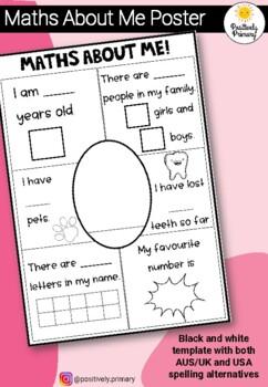 Maths About Me Kindergarten/Prep Number Sense